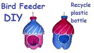getlinkyoutube.com-How to make BIRD feeder