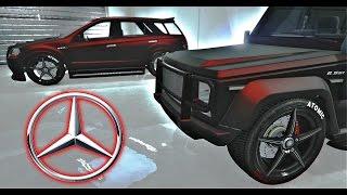 قراند 5 سيارات مرسيدس بنز تصميمي الخاص GTA V