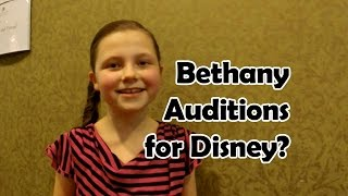 getlinkyoutube.com-Bethany Auditions for the Disney Channel?