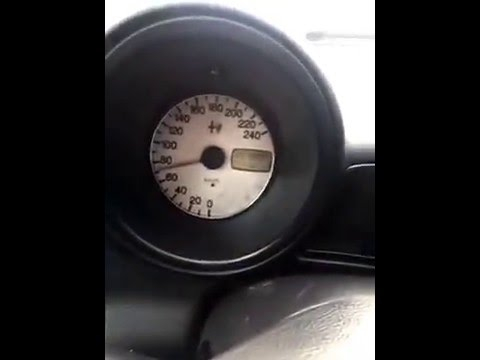 Alfa Romeo 156 speedometer fail