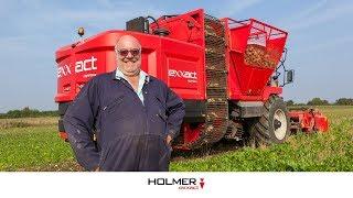 Agrifac Holmer Exxact SixxTraxx Testimonial UK Todd
