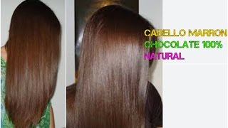 getlinkyoutube.com-CABELLO COLOR MARRON CHOCOLATE, NATURAL!!