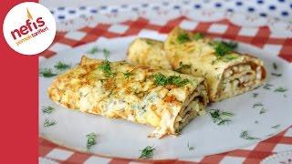 getlinkyoutube.com-İki Peynirli Omlet Tarifi | Peynirli Omlet Yapımı | Nefis Yemek Tarifleri
