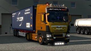 getlinkyoutube.com-Euro Truck Simulator 2 - MEGA TUNING MOD | MAN