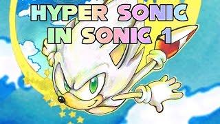getlinkyoutube.com-Super Sonic & Hyper Sonic in Sonic 1 - Walkthrough
