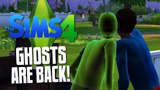 getlinkyoutube.com-The Sims 4 - GHOSTS ARE BACK - The Sims 4 Funny Moments #14