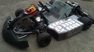 getlinkyoutube.com-Electric Go Kart goes wild 128HP