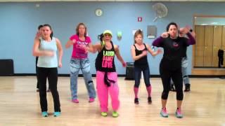 "getlinkyoutube.com-""La Colegiala"" by Calo ft Margarita *Basic choreo for Dance fitness*"