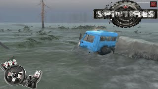 getlinkyoutube.com-Spin Tires - Mapa inundado! G27