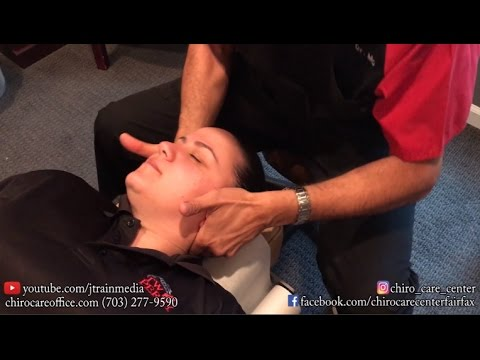 Chiropractic Adjustment on A Patient With Shooting Low Back Pain