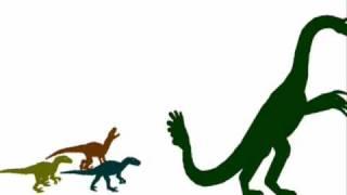 getlinkyoutube.com-PDFC - Velociraptors vs Therizinosaurus