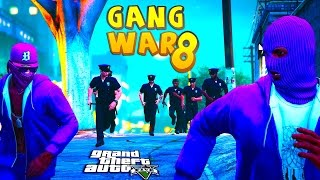 getlinkyoutube.com-GTA 5 THUG LIFE #8 - GANG WAR BLOOD VS CRIPS | S3