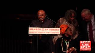 Archbishop Desmond Tutu speaks at Shared Interest's 20th Anniversary Gala - Part 1