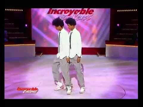 Les Twins 1st Audition Incroyable Talent