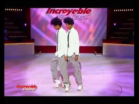 Les Twins 1st Audition Incroyable Talent
