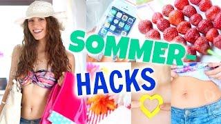 getlinkyoutube.com-8 coole SOMMER HACKS! Abkühlen, Sonnen-Tattoos, Cola-Slushy...♡ BarbieLovesLipsticks