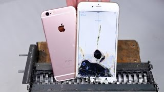 getlinkyoutube.com-Paper Shredder vs iPhone 6S - Can You Shred an iPhone?