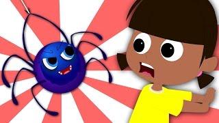 Little Miss Muffet   Nursery Rhymes   Kids Song   Childrens Rhymes
