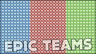 getlinkyoutube.com-AGARIO EPIC TEAMS - RED VS GREEN (and a little bit blue) (Agar.io #118)
