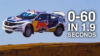 How Global Rallycross Supercars Hit 60 MPH in 1.9 Seconds