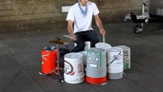 Various - Amazing Street Drummer