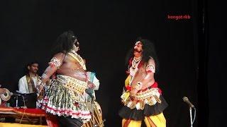 getlinkyoutube.com-Yakshagana -- Bakasura pravesha -- Vadhe