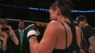 getlinkyoutube.com-Gina Carano vs Leiticia Pestova MMA Fight