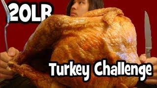 getlinkyoutube.com-Matt Stonie vs 20lb Turkey