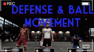 getlinkyoutube.com-NBA 2K16 My Park | Defense & Ball Movement