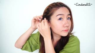 getlinkyoutube.com-How to: Twist Braid [Thai] การถักเปียเกลียว