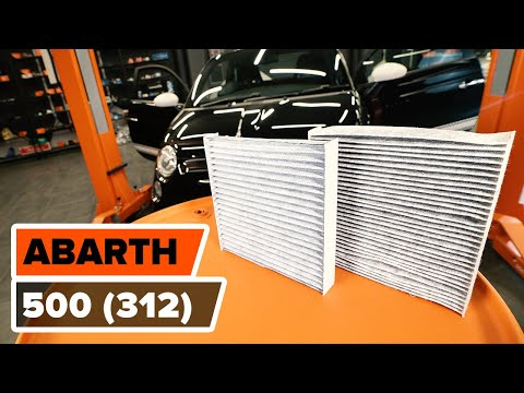 Как заменить салонный фильтр на FIAT 500 ABARTH (312) (ВИДЕОУРОК AUTODOC)