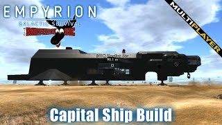 getlinkyoutube.com-Empyrion - Galactic Survival - Multiplayer Capital Ship Build