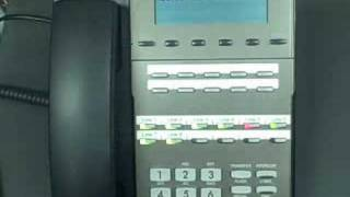 nec dsx 22b display telephone line ringing youtube rh youtube com
