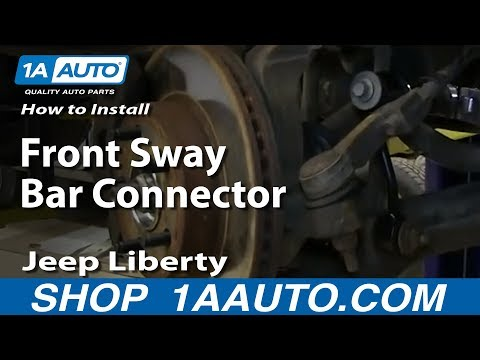 How to Replace Sway Bar Link 02-07 Jeep Liberty