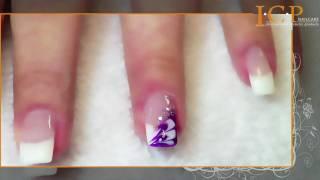 Einfache Nail-Art mit Farbgel