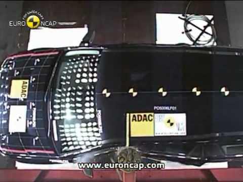 Краш тест Land Rover Freelander 2007 (E-NCAP ADAC)