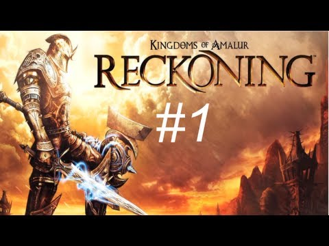 Kingdom of Amalur - Reckoning Walkthrough with Commentary Part 1 - Gameplay