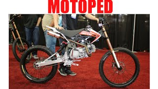 getlinkyoutube.com-Motoped downhill mountain bike / mopeds :SEMA Las Vegas