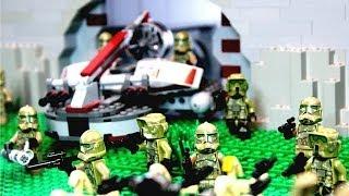 getlinkyoutube.com-Lego Star Wars Republic Defense Fortress MOC