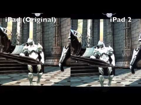 Apple iPad 1 vs iPad 2: Gaming Comparison (Split-Screen Demo)