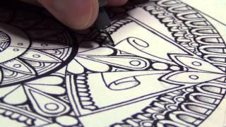 getlinkyoutube.com-A Mandala (And Drawing Mindsets)