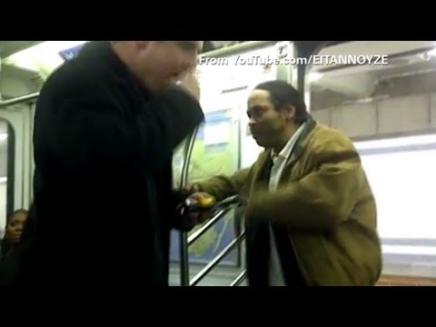 Subway fight disarmed with potato chips
