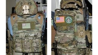 getlinkyoutube.com-Airsoft Multicam Loadout; TMC JPC and HSGI Sure-Grip Belt