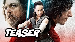 Star Wars Episode 8 Kylo Ren Teaser - TOP 10 WTF Questions