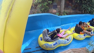 getlinkyoutube.com-River Thunder Water Slide at Wet World Water Park