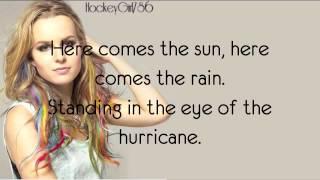 getlinkyoutube.com-Hurricane- Bridgit Mendler (Official Lyrics)