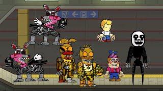 getlinkyoutube.com-Scribblenauts Unlimited 143 FNaF 4 Halloween DLC Characters
