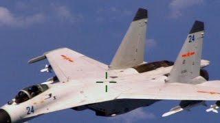 getlinkyoutube.com-Chinese jet intercepts U.S. surveillance plane