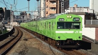 getlinkyoutube.com-【JR西日本】 さよなら奈良103系大阪環状線直通運用