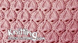 getlinkyoutube.com-Tear Drop stitch